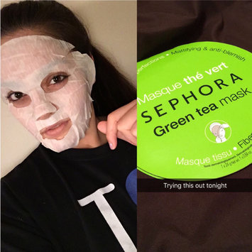 Photo of SEPHORA COLLECTION Face Mask Green Tea Mattifying & Anti-blemish uploaded by Jessica U.