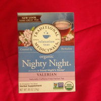 Traditional Medicinals Organic Nighty Night Valerian Herbal Tea 16 ct uploaded by LaTryce P.