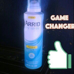 Arrid® Renew Ultra-Clear Dry Spray Antiperspirant Deodorant 4 oz. Aerosol Can uploaded by Rachel V.