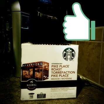 Starbucks Coffee Pike Place Roast K-Cups uploaded by Elicia L.