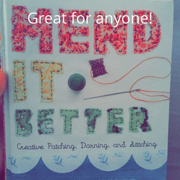 Photo of Mend It Better: Creative Patching, Darning, and Stitching uploaded by Jessie A.