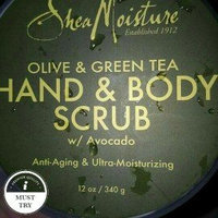 SheaMoisture Olive & Green Tea Hand & Body Scrub uploaded by andrea l.