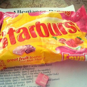 Starburst FaveREDs Fruit Chews uploaded by Crystal P.