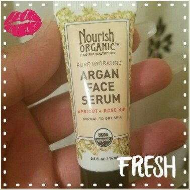 Nourish Organic Argan Face Serum Apricot + Rosehip uploaded by Elena P.