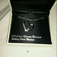 Diamond Classics Sterling Silver 1/10 Carat T.W. Mom Heart Pendant (White) uploaded by June Q.