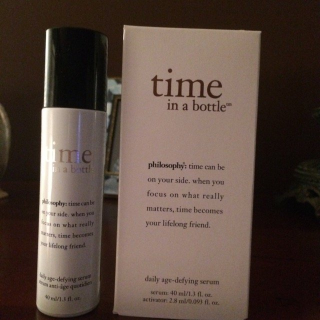 philosophy time in a bottle 100% in control daily age-defying serum uploaded by Gina R.