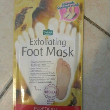 [Purederm@korea] Purederm Exfoliating Foot Mask[Large Size(over 270mm) - Peels Away Calluses and Dead Skin in 2 Weeks! [10 Packs (10 Pairs)] (10 pairs) uploaded by Lisa C.