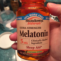 Sundown Naturals Melatonin 5mg Extra Strength uploaded by Suzanne A.