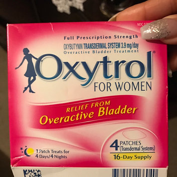 Photo of Oxytrol® for Women Overactive Bladder Transdermal Patch 4 ct. Box uploaded by Dora G.