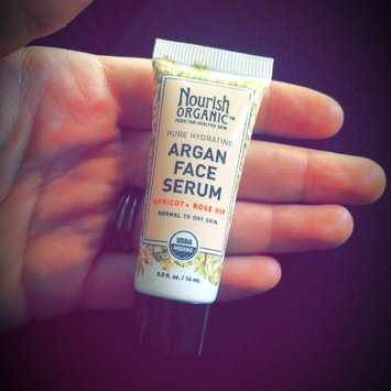 Nourish Organic Argan Face Serum Apricot + Rosehip uploaded by Haley W.