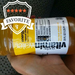 vitaminwater Energy Tropical Citrus uploaded by Madison S.