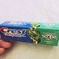 Crest Whitening Plus Scope Fluoride Anticavity Toothpaste uploaded by Priscilla O.