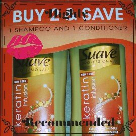 Photo of Suave® Professionals Keratin Infusion Smoothing Shampoo and Conditioner uploaded by Jessica C.