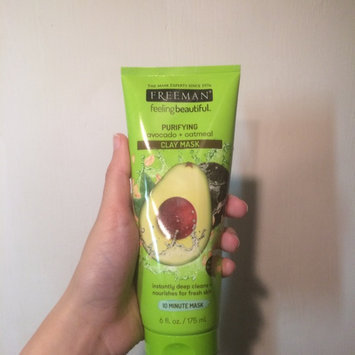 Freeman Beauty Feeling Beautiful™ Avocado & Oatmeal Clay Mask uploaded by Cheyenne W.