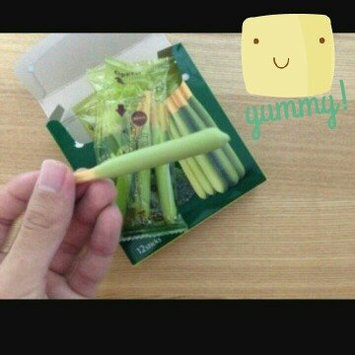 Glico Pocky Matcha Green Tea Cream Covered Biscuit Sticks uploaded by Grace Y.