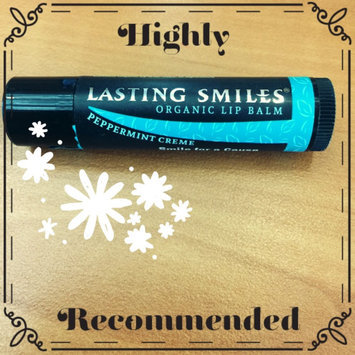 Photo of Lasting Smiles® Peppermint Creme Organic Lip Balm- 0.15 oz uploaded by Abby M.