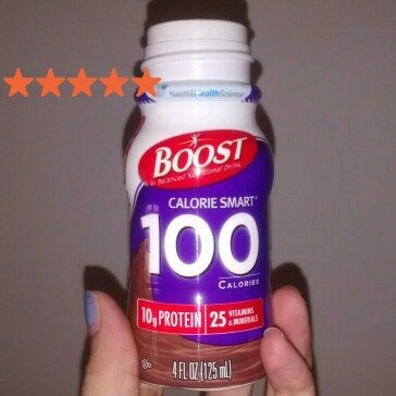 Boost® Calorie Smart® Rich Chocolate Balanced Nutritional Drink 4-4 fl oz. Plastic Bottles 1 pt. Box uploaded by Jackie A.