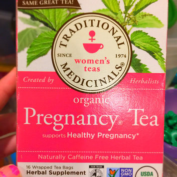 Photo of Traditional Medicinals Organic Pregnancy Tea Herbal Supplement uploaded by Bethany K.
