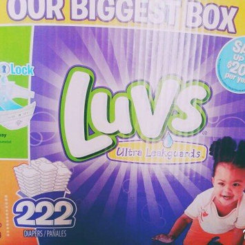 Photo of Luvs Diapers with Ultra Leakguards uploaded by Heather L.