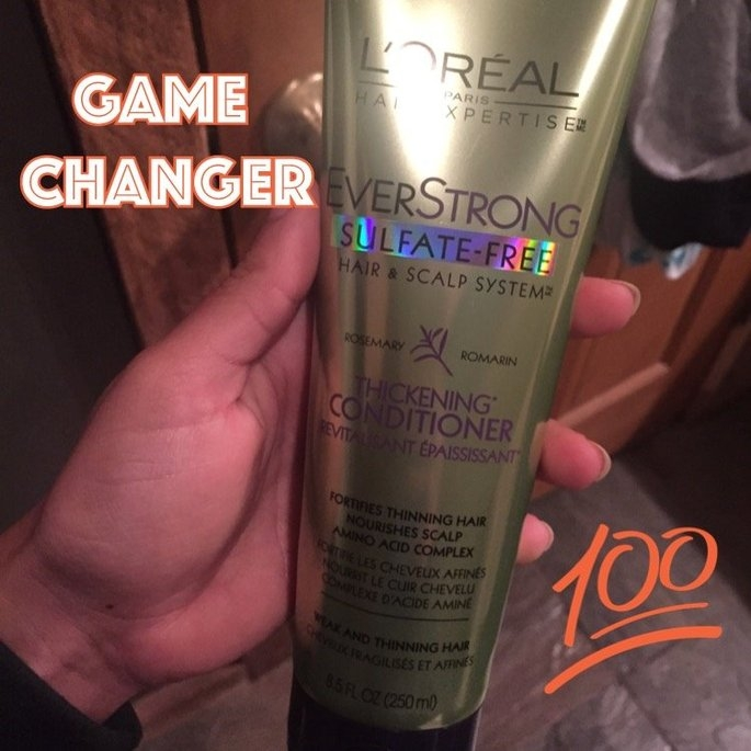 L'Oréal EverStrong Thickening Conditioner uploaded by Ariel M.