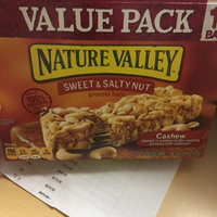 Nature Valley Sweet & Salty Nut Granola Bars Cashew uploaded by sarah B.