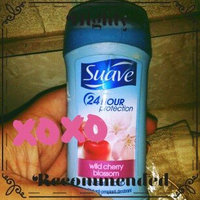 Suave 24 Hour Protection Wild Cherry Blossom Invisible Solid Anti-Perspirant Deodorant by  for Unisex - 2. 6 oz Deodorant uploaded by Amanda W.