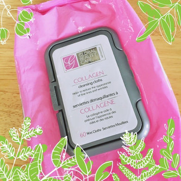 Photo of Global Beauty Care Premium Collagen Cleansing Cloths-60 Pack Wipes uploaded by Ashley A.