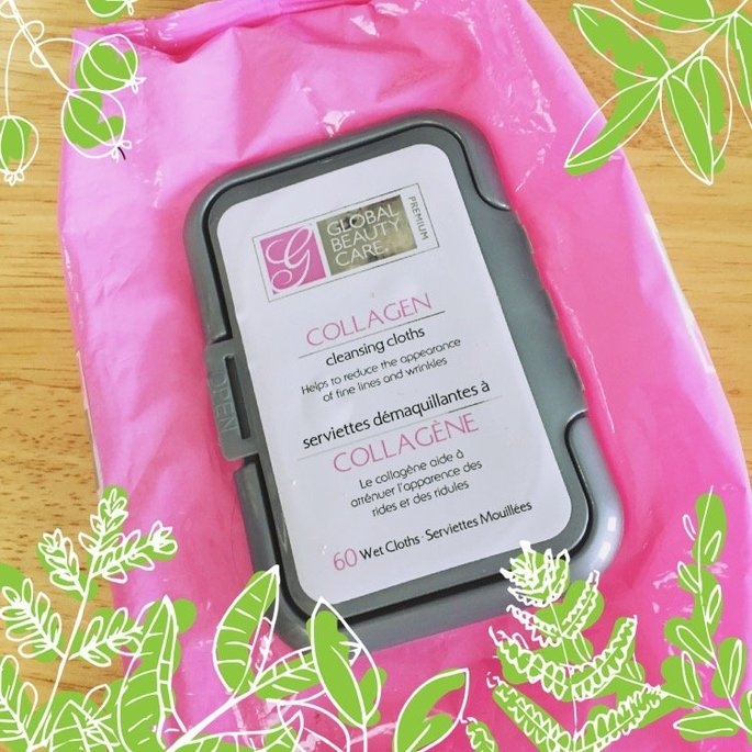 Global Beauty Care Premium Collagen Cleansing Cloths-60 Pack Wipes uploaded by Ashley A.