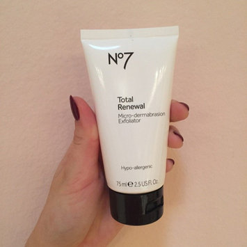 Boots No7 Total Renewal Micro-Dermabrasion Exfoliator uploaded by Sabrina E.