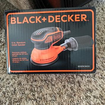 Photo of Black & Decker BDERO600 2.4 Amp 5 in. Random Orbital Sander with Paddle Switch uploaded by Pauline W.