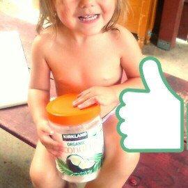 Photo of Kirkland Signature Organic Virgin Coconut Oil Cold Pressed Unrefined 42.3 Fl oz uploaded by Amanda J.