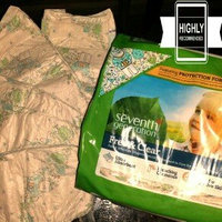 Seventh Generation Free & Clear Size 4 Baby Diapers uploaded by Morgan D.