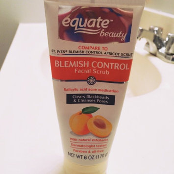 Equate Beauty Blemish Control Apricot Scrub, 6 oz uploaded by Alicia L.