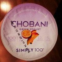 Chobani Simply 100® Mango Passion Fruit Blended Non-Fat Greek Yogurt 5.3 oz. Cup uploaded by Amanda A.