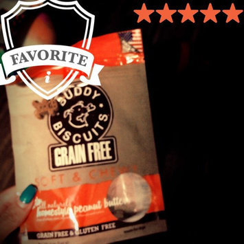 Photo of Cloud Star Grain Free Soft & Chewy Buddy Biscuits Dog Treats uploaded by Juliana T.