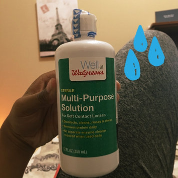 Photo of Walgreens Multi-Purpose Contact Lens Solution uploaded by Julissa S.