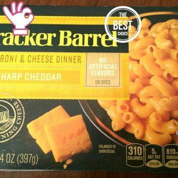 Cracker Barrel Sharp Cheddar Macaroni & Cheese Dinner 14 oz. Box uploaded by MONEKA S.