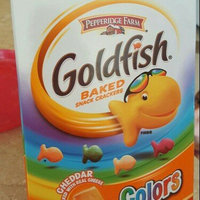 Goldfish® Colors Cheddar Taste Baked Snack Crackers uploaded by Whitney B.