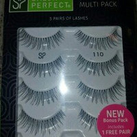 Salon Perfect Perfectly Natural Eyelashes, 110 Black, 4 pair uploaded by Melissa-Timothy H.