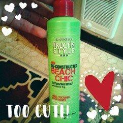 Garnier Fructis Beach Chic Texturizing Spray uploaded by KORA B.