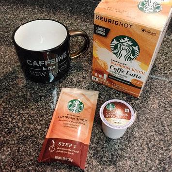 Photo of Starbucks Pumpkin Spice Caffe Latte K-Cups uploaded by Annie Y.
