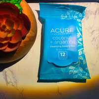 Acure Organics Unscented Argan Oil Cleansing Towelettes for Face & Body, 30 ea uploaded by Ali R.