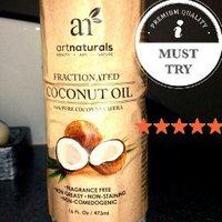 ArtNaturals Art Naturals Fractionated Coconut Oil 16 oz 100% Natural & Pure - Best Carrier / Massage Oil uploaded by Nkiru O.