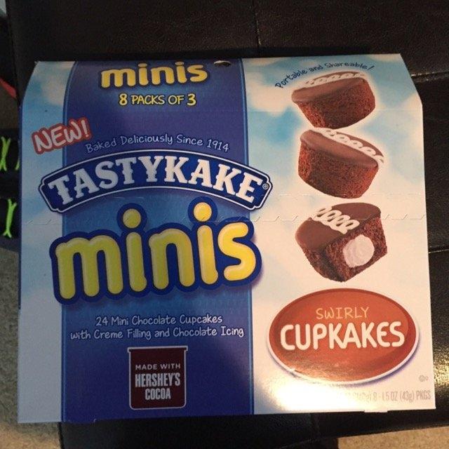 Tastykake® Minis Swirly Cupkakes 8 - 1.5 oz Packages uploaded by Amber S.