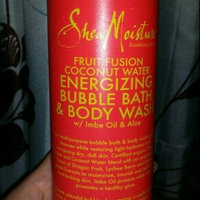 SheaMoisture Fruit Fusion Coconut Water Energizing Bubble Bath & Body Wash uploaded by April M.