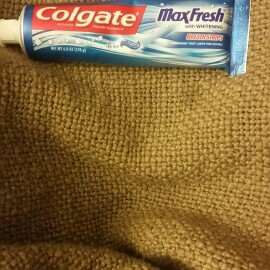 Photo of Colgate® MaxFresh® with WHITENING BREATH STRIPS Liquid Toothpaste Cool Mint uploaded by Brooke P.