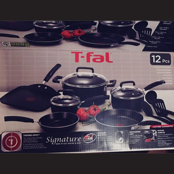 Photo of T-Fal Signature Non-Stick Cookware 12Pc Set uploaded by Janine E.