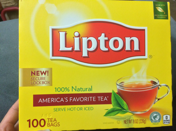 Lipton® Serve Hot or Iced Tea Bags uploaded by Jessica O.