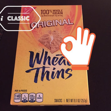 Photo of Nabisco Wheat Thins Original Crackers uploaded by Rosa Y.