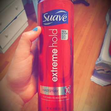Photo of Suave® Extreme Hold Aerosol Hairspray # 10 uploaded by Holly S.